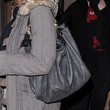Kim Cattrall Leather Shoulder Bag