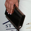 Kim Kardashian Handbags - Hard Case Clutch