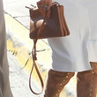 Kim Kardashian Handbags - Leather Shoulder Bag