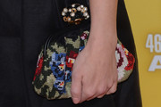 Kimberly Perry Buckled Clutch