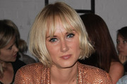 Kimberly Stewart Short cut with bangs