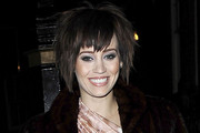 Kimberly Wyatt Mid-Length Bob