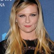Kirsten Dunst Long Wavy Cut with Bangs