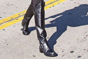 Kourtney Kardashian Knee High Boots