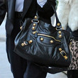 Kourtney Kardashian Handbags - Leather Shoulder Bag