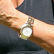Kris Jenner Sterling Quartz Watch