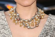Kristen Bell Beaded Collar Necklace
