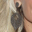 Kristin Chenoweth Dangling Gemstone Earrings