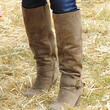 Kyle Richards Knee High Boots