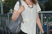 Kylie Minogue Leather Shoulder Bag