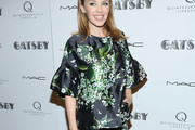 Kylie Minogue Print Blouse