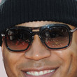 LL Cool J Square Sunglasses