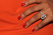 La La Anthony Red Nail Polish