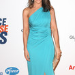 Lacey Chabert Clothes - One Shoulder Dress