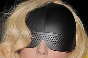 Lady Gaga Shield Sunglasses