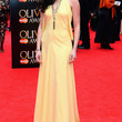 Lara Pulver Clothes - Halter Dress