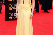 Lara Pulver Halter Dress
