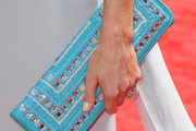 Lara Spencer Gemstone Inlaid Clutch