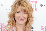 Laura Dern Medium Wavy Cut with Bangs