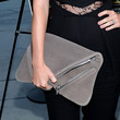 Laura Ramsey Leather Clutch