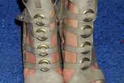 Lauren Remington Platt Gladiator Heels
