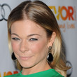 LeAnn Rimes Hair - Long Center Part