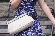 Leighton Meester Fabric Bag