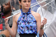 Leighton Meester Halter Top