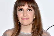 Lena Dunham Shoulder Length Hairstyles