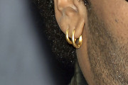Lenny Kravitz Gold Hoops