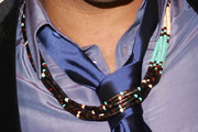 Lenny Kravitz Layered Beaded Necklace