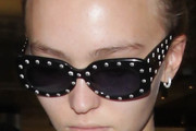 Lily-Rose Depp Modern Sunglasses