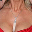 Linda Thompson Jewelry - Oversized Pendant Necklace