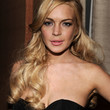 Lindsay Lohan Hair - Half Up Half Down