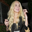 Lindsay Lohan Hair - Long Wavy Cut
