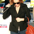 Lindsay Lohan Clothes - Pea Coat
