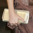 Lisa Scott-lee Metallic Clutch