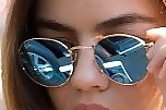 Lucy Hale Modern Sunglasses