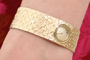 Lucy Punch Gold Bracelet Watch