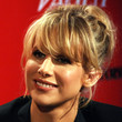 Lucy Punch Hair - Messy Updo