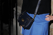Ludivine Sagnier Leather Shoulder Bag