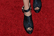 Zoey Deutch Platform Sandals