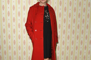 Renee Zellweger Wool Coat