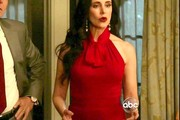 Madeleine Stowe Halter Dress