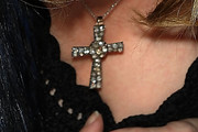 Madonna Cross Pendant