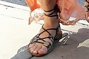 Margot Robbie Sandals