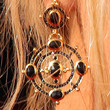 Maria Sharapova Dangle Decorative Earrings