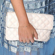 Maria Sharapova Leather Clutch