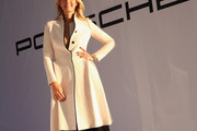 Maria Sharapova Wool Coat