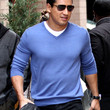 Mario Lopez Clothes - V-neck Sweater